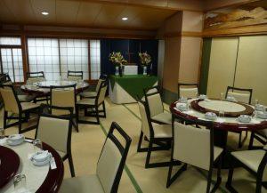 宴会の個室