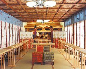 5階建当時の神前結婚式場